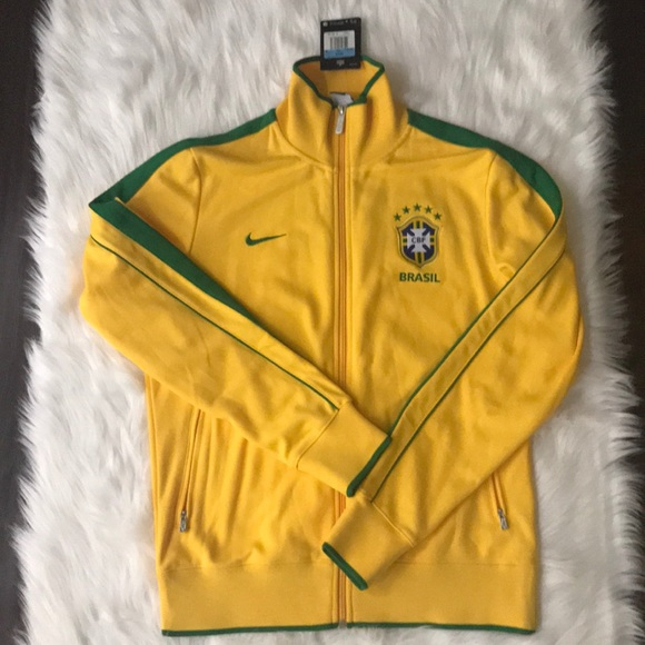 08c3553a4bdd Nike BRASIL 🇧🇷 TRACK JACKET